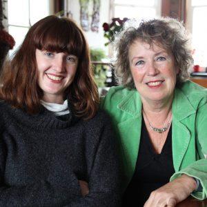 Marijke en Poetsstudent Larissa