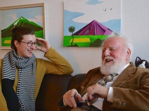 Meneer van Steijn en Isabelle-SeniorenStudent