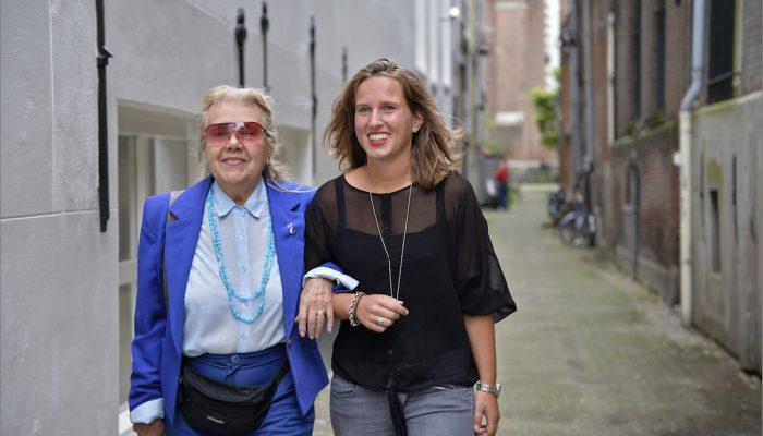 Mevrouw Goldhagen & Ruth Verkamman